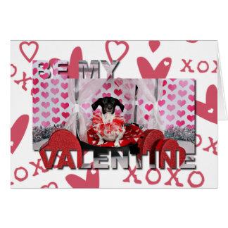 Carte Saint-Valentin - nandou - teckel