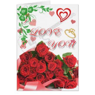Carte saison de l'amour