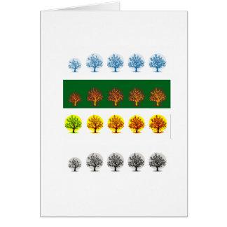 Carte saisons
