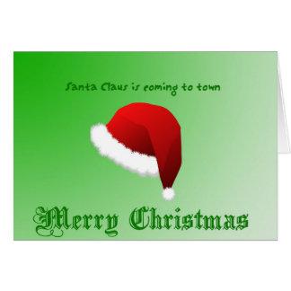 Carte Salutation de Noël