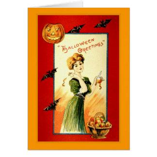 Carte Salutations de Halloween