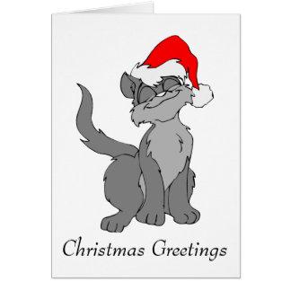 Carte Salutations de Noël