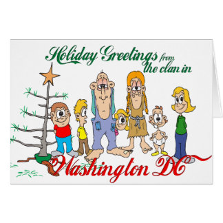Carte Salutations de vacances de C.C