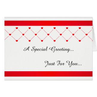 Carte Salutations spéciales