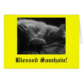 Carte Samhain béni !