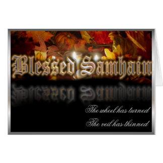Carte Samhain béni