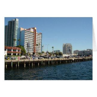 Carte San Diego, la Californie