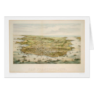 Carte San Francisco, CA 1873 (1528A)