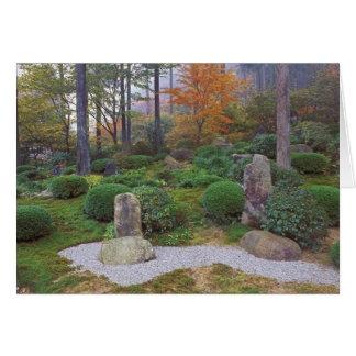 Carte Sanzen-dans le temple, Ohara, Kyoto, Japon 4