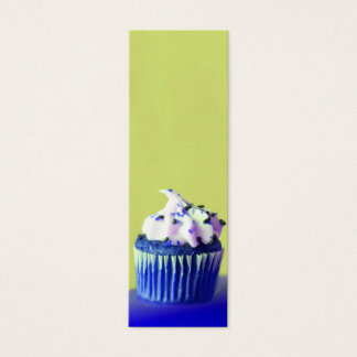 Carte savoureuse de profil de petit gâteau