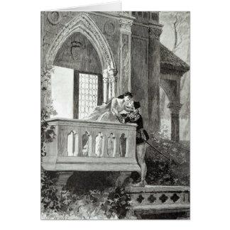 Carte Scène de l'acte II de Romeo et de Juliet