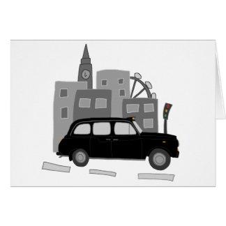 Carte Scène de taxi de Londres