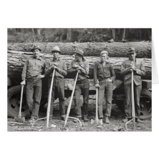 Carte Scierie Workers, 1939 de l'Idaho