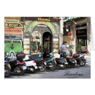 Carte scooters Barcelone de Rambla de La de g/nc