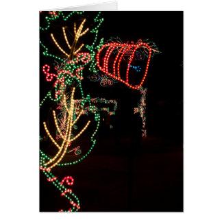 Carte Sculpture en lumière d'arbre de Bell