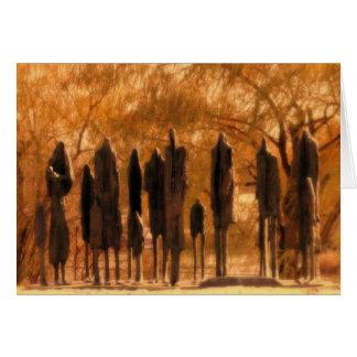 Carte Sculpture en mémorial d'holocauste