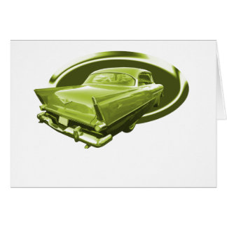 Carte Sépia Plymouth 1956