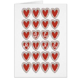 Carte Serez-vous mon Valentine ?