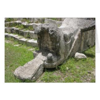 Carte Serpent maya