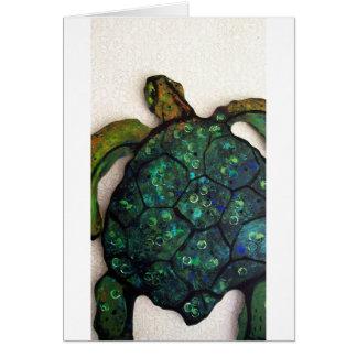 Carte Sheldon la tortue de mer