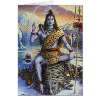 Carte Shiva Mahadeva