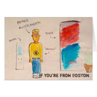 Carte Si vous êtes de Boston doode.
