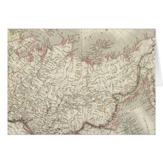 Carte Siberie, d'Asie de Russie - la Russie et la