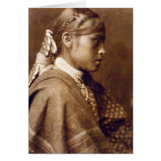 Carte Sigesh (fille d'Apache)