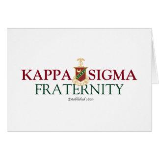 Carte Sigma de Kappa