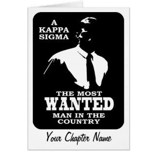 Carte Sigma de Kappa - le plus voulu