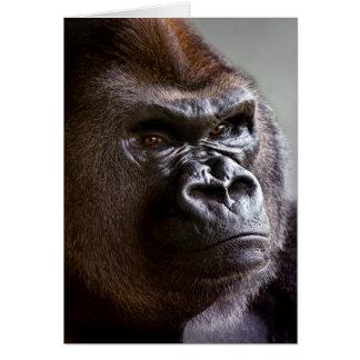 Carte Silverback de gorille le patron
