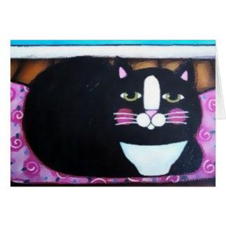 Carte Smoking Kitty