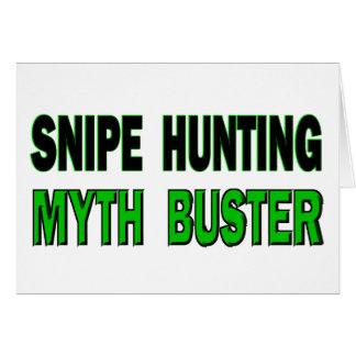 Carte Snipe chassant le type de mythe