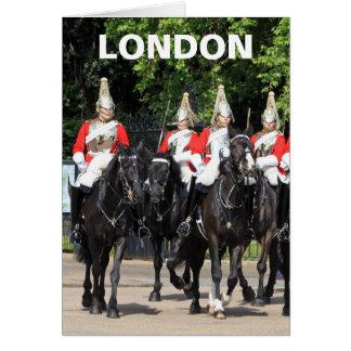 Carte Soldats montés par cavalerie de ménage en photo de
