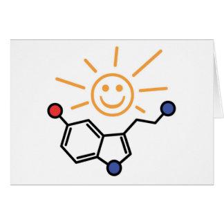 Carte Soleil de sérotonine - le bonheur est chimie