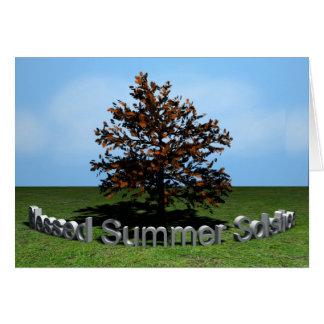 Carte Solstice d'été béni