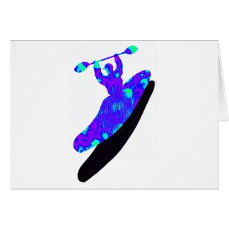 Carte Soufflage de Boof de kayak