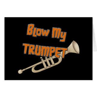 Carte Soufflez ma trompette