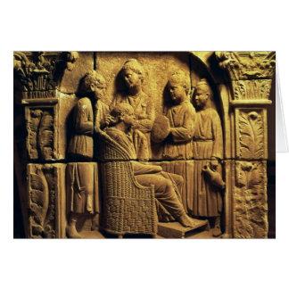Carte Soulagement de Bas d'un coiffeur, romain