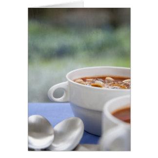Carte Soupe à jour pluvieux