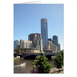 Carte southbank de Melbourne