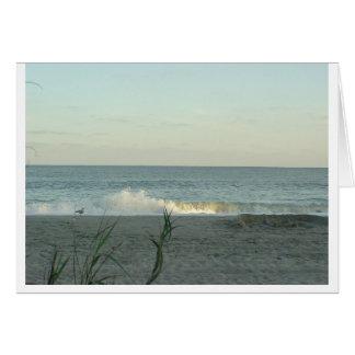 Carte Souvenirs de plage