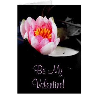Carte Soyez mon Valentine !