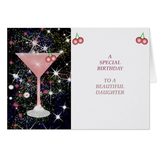 Carte Special Birthday Daughter Card