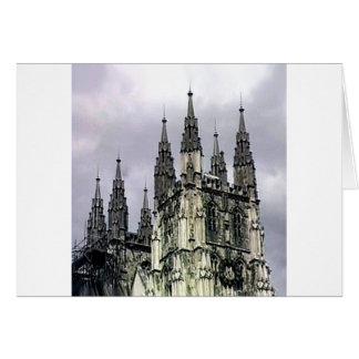 Carte Spirales d'église de l'Angleterre Cantorbéry le