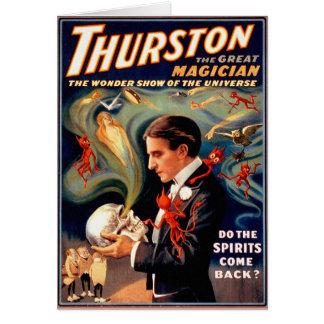 Carte Spiritueux magiques de fantômes de Thurston de
