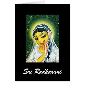 Carte Sri Radharani