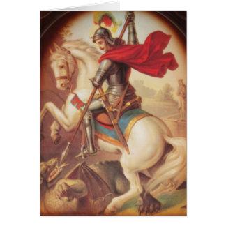 Carte St George et le dragon