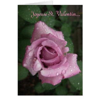 Carte St Valentin de Joyeux