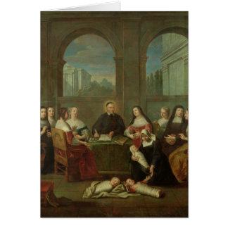 Carte St Vincent de Paul et les soeurs de la charité